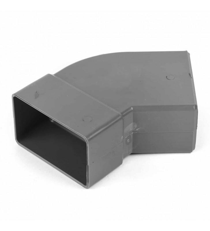 Καμπύλη Κλειστής Υδρορροής Πλάγια 45° 6x10 εκ.