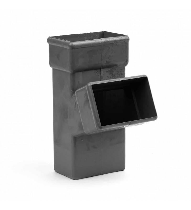 Ημιταφ Κλειστής Υδρορροής Κάθετο 6x10 εκ. - 6x10 εκ.