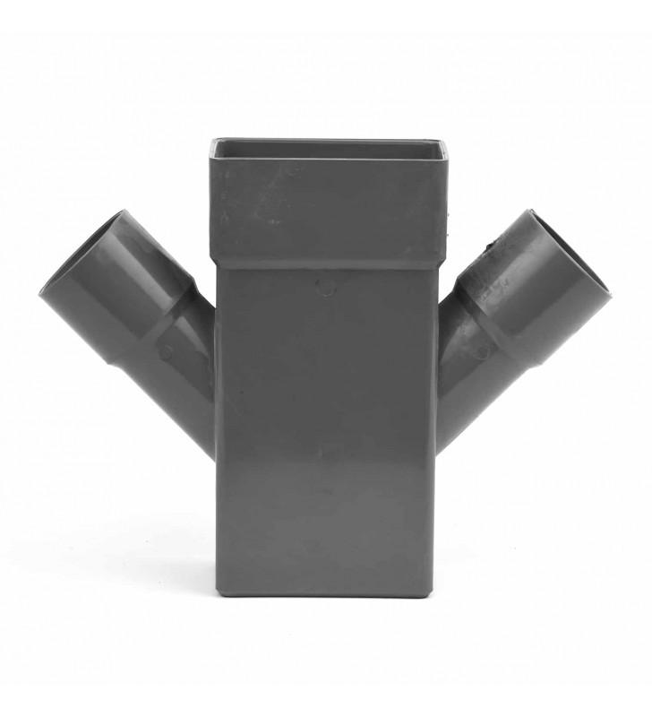 Διπλό Ημιτάφ (Ψι) Κλειστής Υδρορροής 6x10 εκ. - Φ50