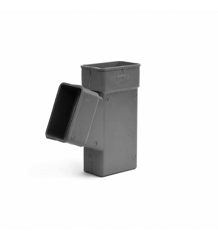 Ημιταφ Κλειστής Υδρορροής Πλάγιο 6x10 εκ. - 6x10 εκ.