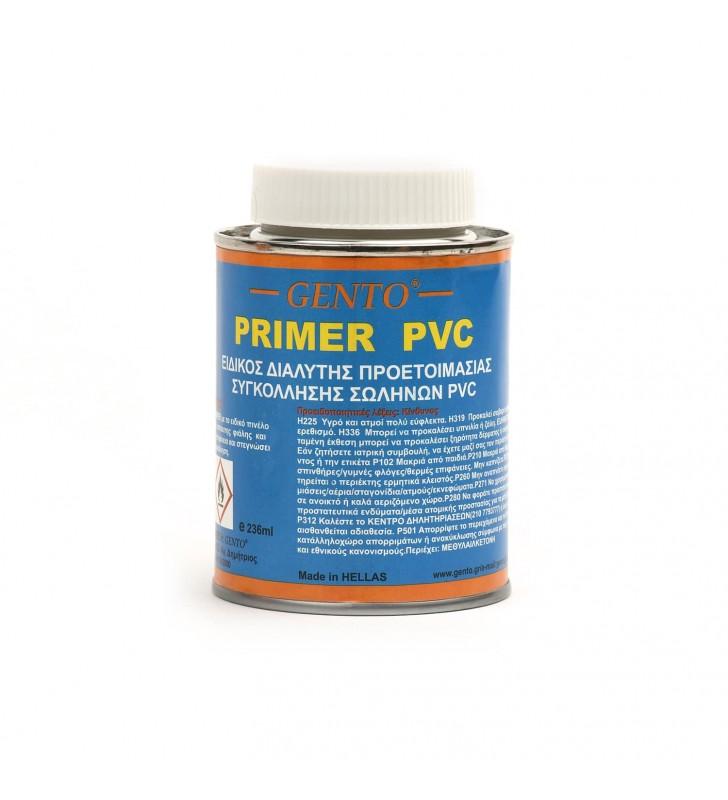 Καθαριστικό Primer PVC Διάφανο 236 ml GENTO