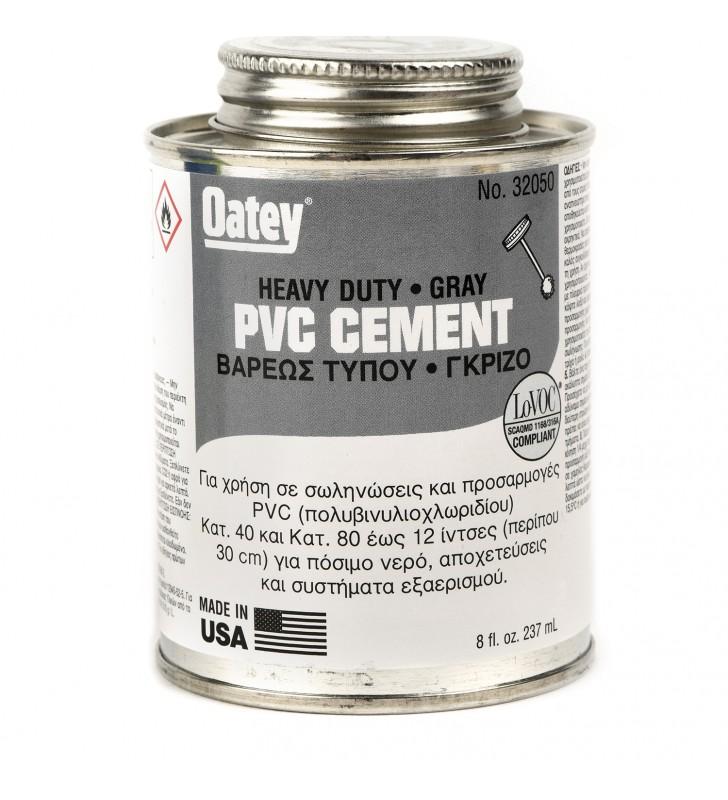 Κόλλα για PVC Γκρι OATEY