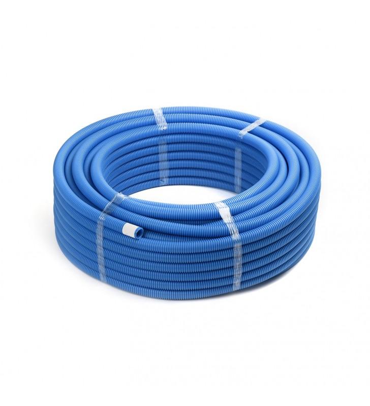 Σπιράλ Προστασίας Φ28 Μπλε 50 μ.