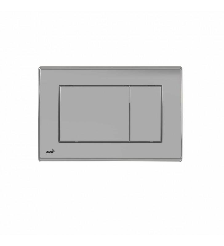 Πλακέτα για Καζανάκι Εντοιχισμού Διπλή Square ALCAPLAST