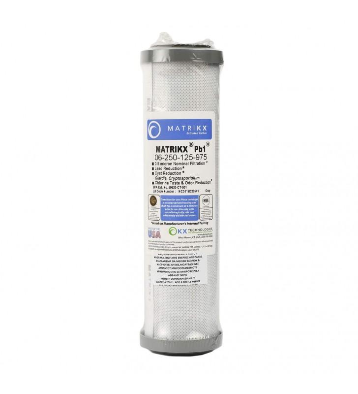 Ανταλλακτικό Μπλοκ Άνθρακα PB1 0.5mic MATRIKX