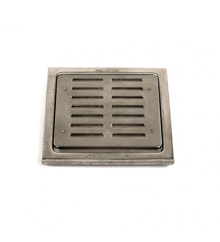 Σχάρα Ασφαλείας 12x12 Inox - Κάθετο Κλείσιμο