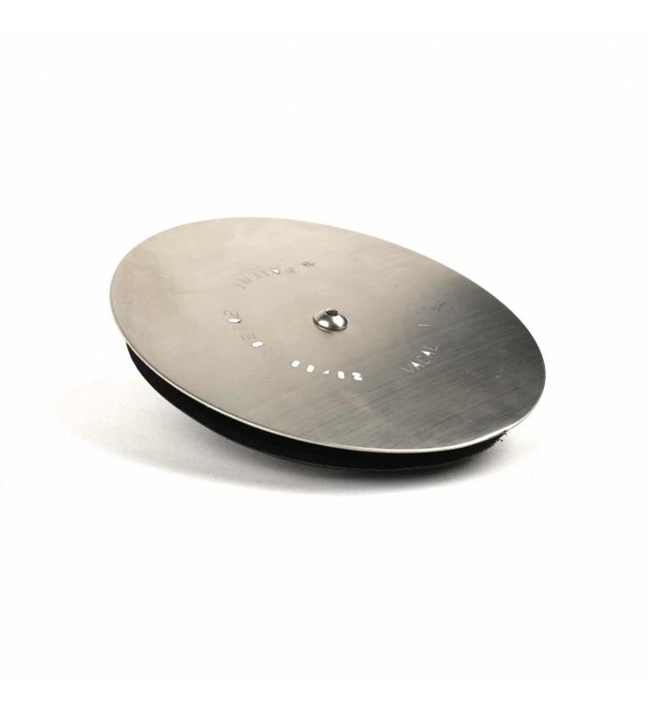 Τάπα Σιφωνιού (Φ100/ 120) Inox VACAL