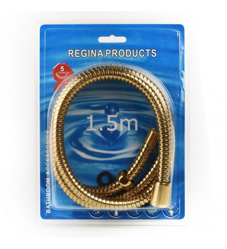 Σπιράλ Ντουζ Χρυσό 150 εκ. (Blister) REGINA