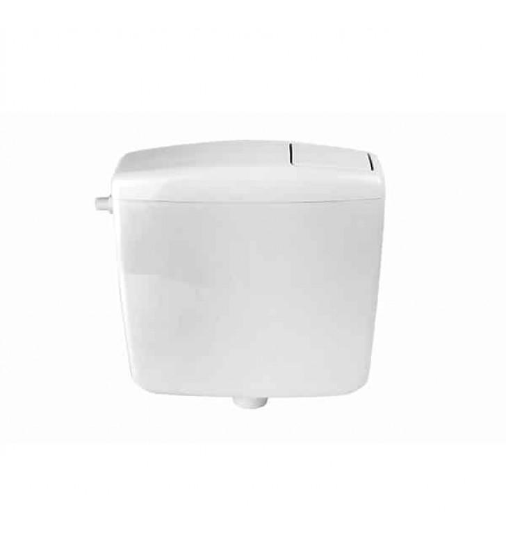 Καζανάκι Πλαστικό Τετράγωνο Λευκό COMO