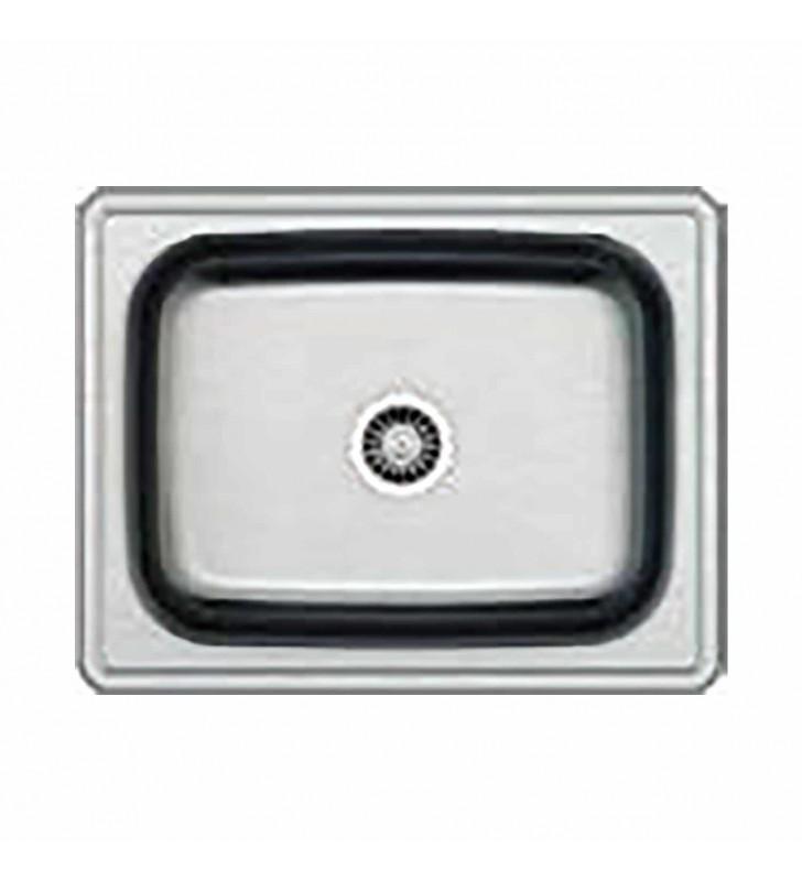 Νεροχύτης Μονός Inox 63,5x50 εκ. AISI304 COMO
